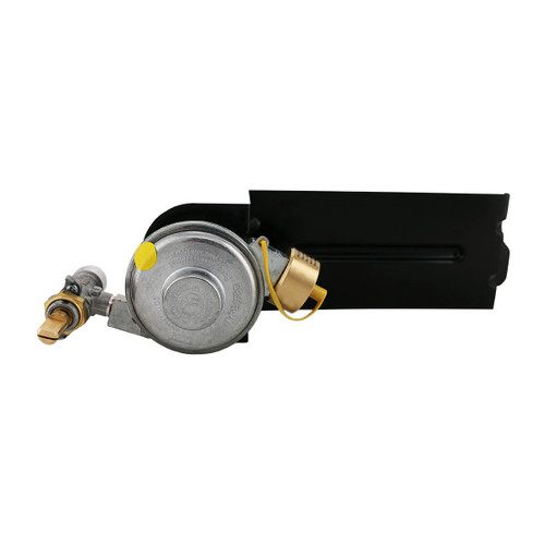 Regulator for the Weber Q® 200 and 2000 Series portable propane grills.