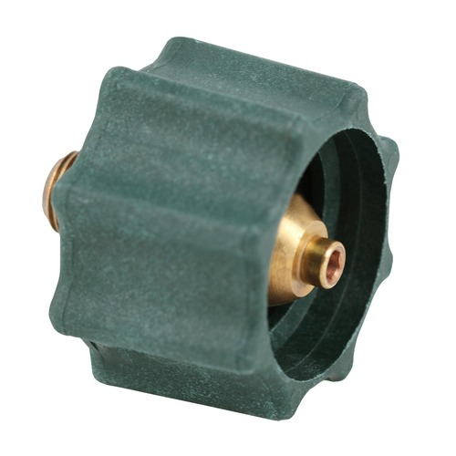"Propane Acme Nut. Acme Nut (Type 1 QCC) x 1/4"" Male Pipe Thread."