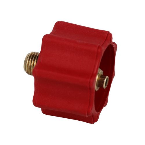"High Pressure Acme (Type 1/QCC) x 1/4"" Male Pipe Thread Fitting."