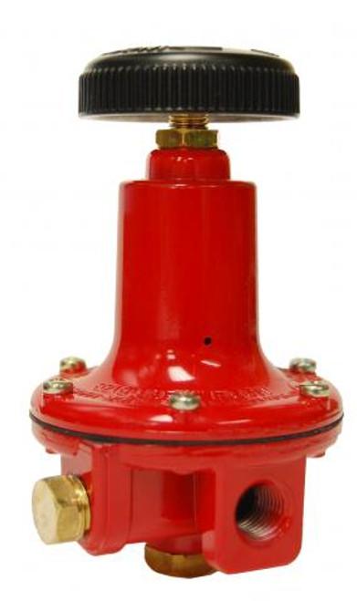 Adjustable High-Pressure Regulator, 1-100 PSI.