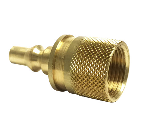 Female POL x Male Quick-Connect Propane Adapter