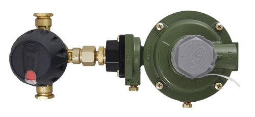 Compact Two-stage Autochange Regulator - 400,000 BTU