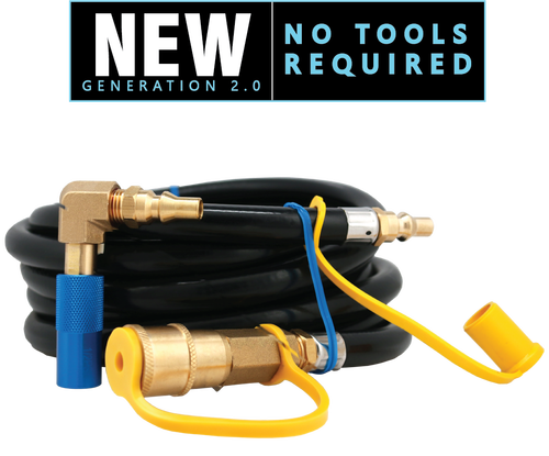 Coleman® Roadtrip Quick-Connect Kit with 12 Ft. Male/Female Quick-Connect Hose.