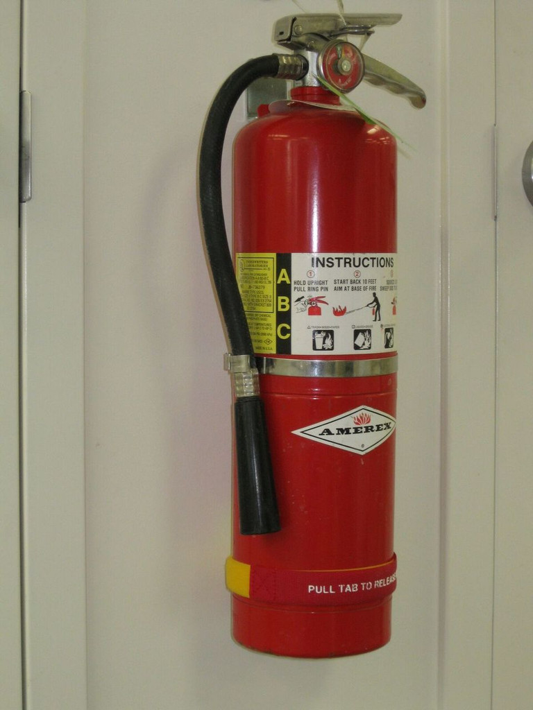 Fire Extinguisher Straps