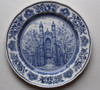 Yale Wedgwood Plate - The Old Library