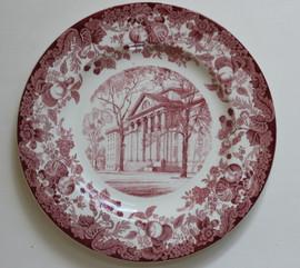 Harvard Wedgwood Plate Littauer Building