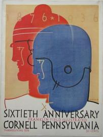 Cornell v. Penn Football Program 1936
