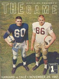 Harvard v. Yale Football Program 1961