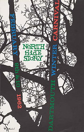 Dartmouth Winter Carnival Poster 1962 - Original