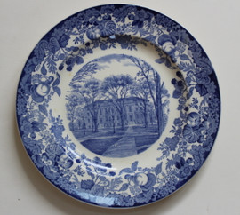 Harvard Wedgwood Plate University Hall 1927