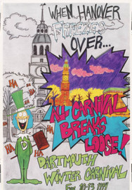 Dartmouth Winter Carnival - Original Poster 1994