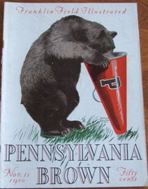 Penn v. Brown Football Program 1950
