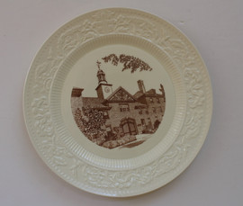 Brown Wedgwood Plate - Cincinnati Gate
