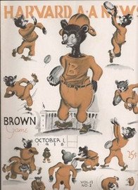 Harvard v. Brown Football Program 1938