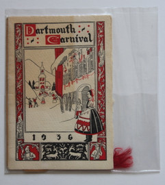Dartmouth Winter Carnival Program 1936