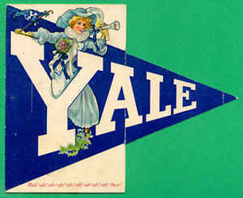 Yale Fold-out Postcard early 1900s