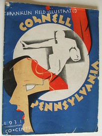Cornell v. Penn Football Program 1931