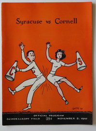 Cornell v. Syracuse Football Program 1947