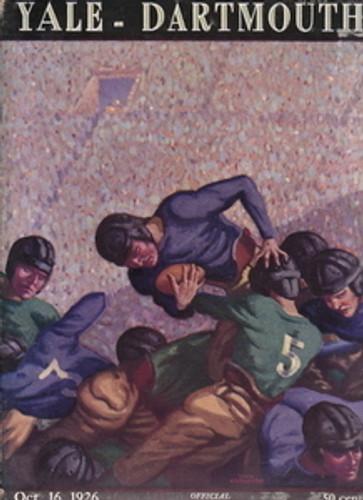 Yale v. Dartmouth Football Program 1926