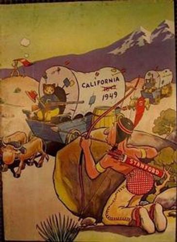 Stanford v. California Football Program 1949