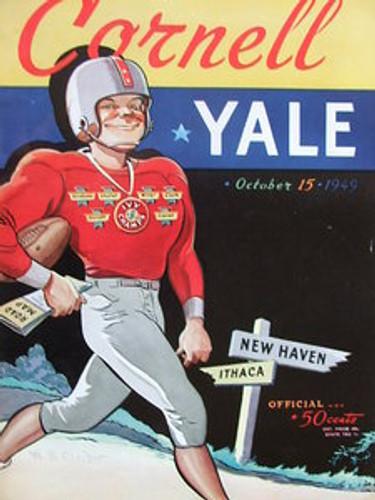 Cornell v. Yale Football Program 1949