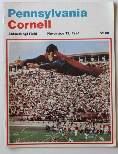 Pennsylvania v. Cornell Football Program 1984 - Superman
