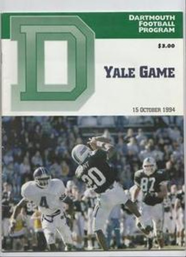 Dartmouth v. Yale Football Program 1994