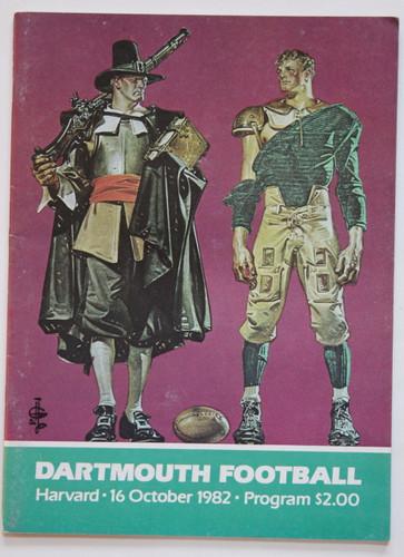 Dartmouth v. Harvard Football Program 1982