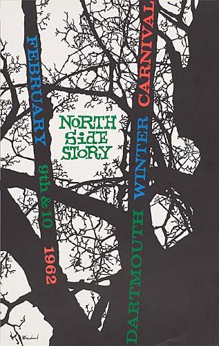 Dartmouth Winter Carnival Poster 1962 - Original