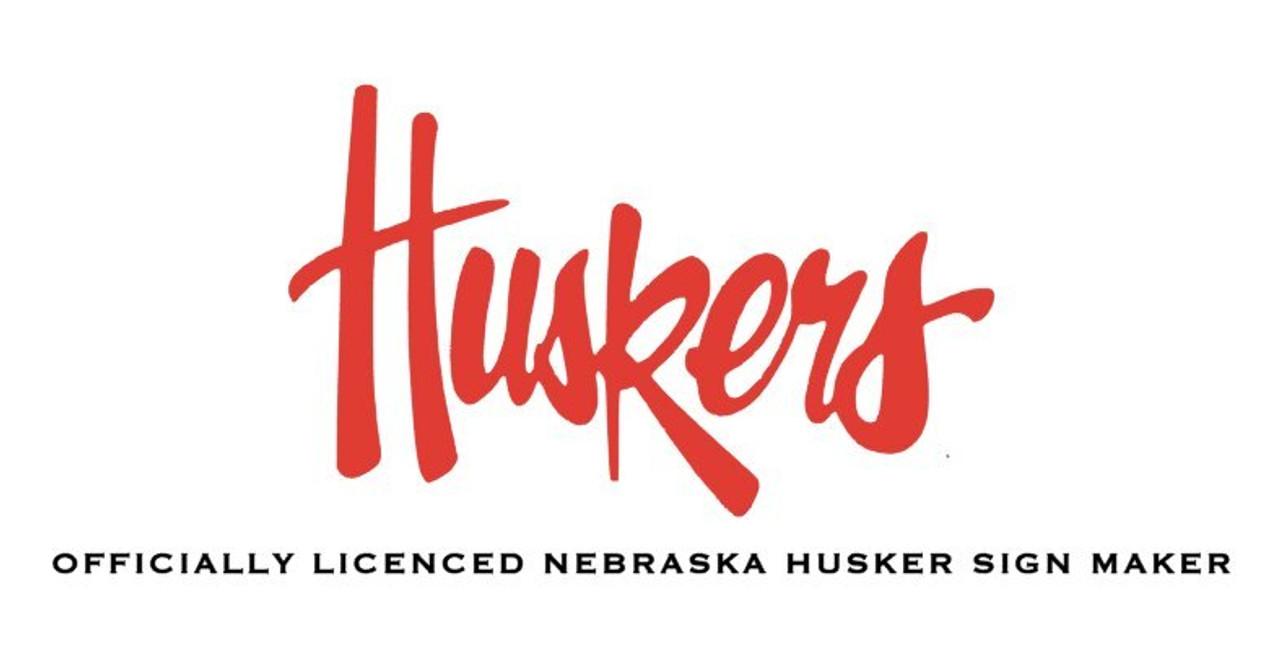 Officially Licensed Nebraska Husker Signs