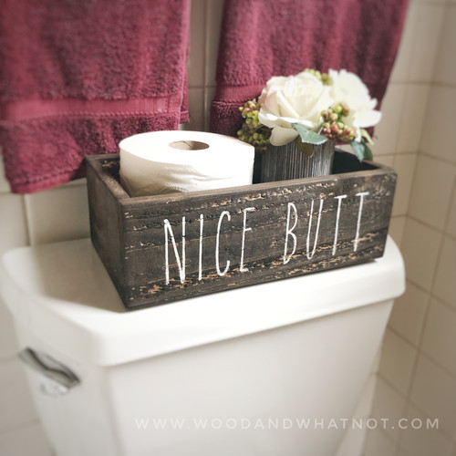 Nice Butt Toilet Box