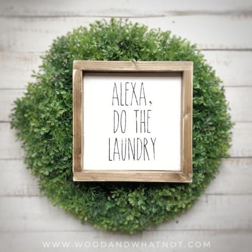 Alexa, do the laundry