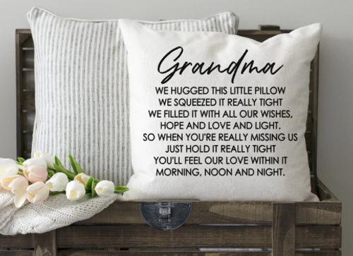 Grandma Pillow