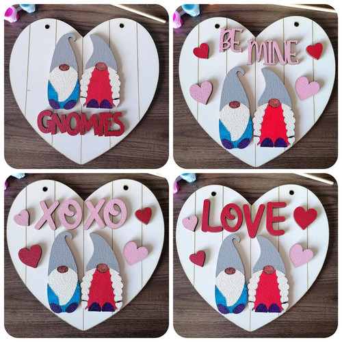 Heart Gnome Valentine's DIY kit