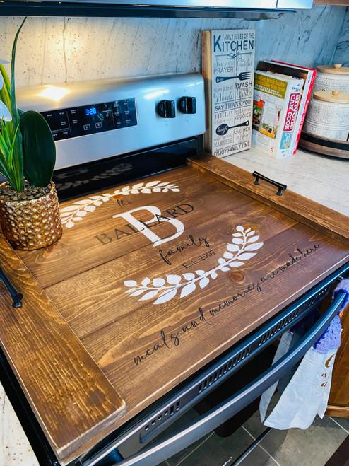 Noodle board stove cover