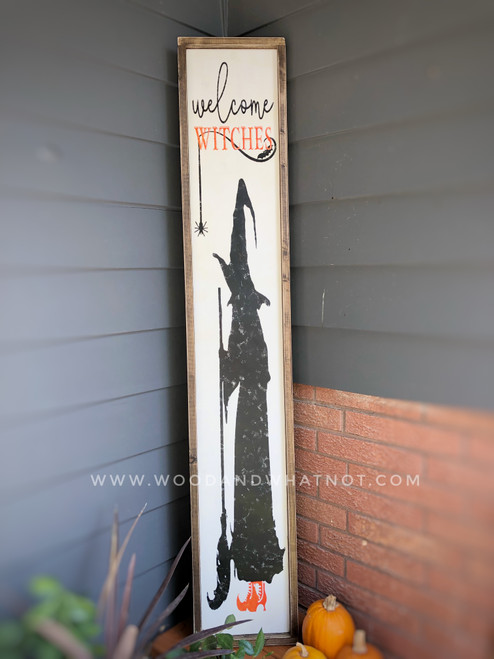 Hello Witches Porch Sign