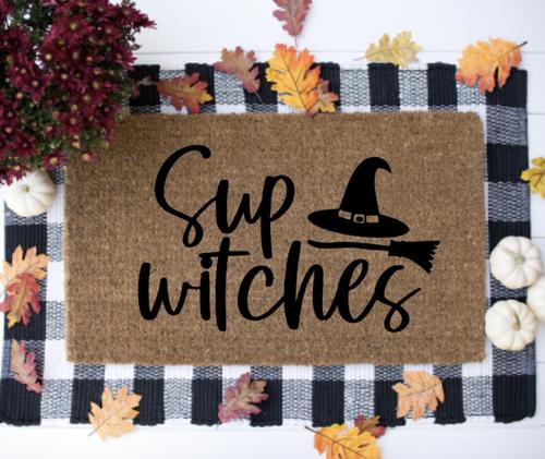 Sup Witches Door Mat