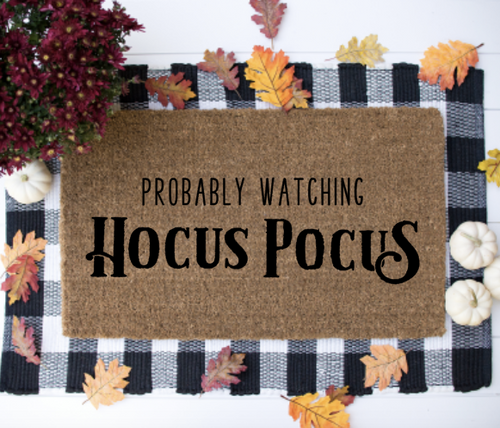 Probably watching Hocus Pocus