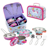 SOKA UNICORN Kids Kitchen Set Toy Pots and Pans Set for kids Toy Kitchen Accessories