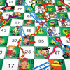 SOKA Giant Board Game Sets Classic Entertainment Fun Game Playmat Rug Carpet Travel Board Games Activities for Kids and Family – Suitable for Indoor or Outdoor Play