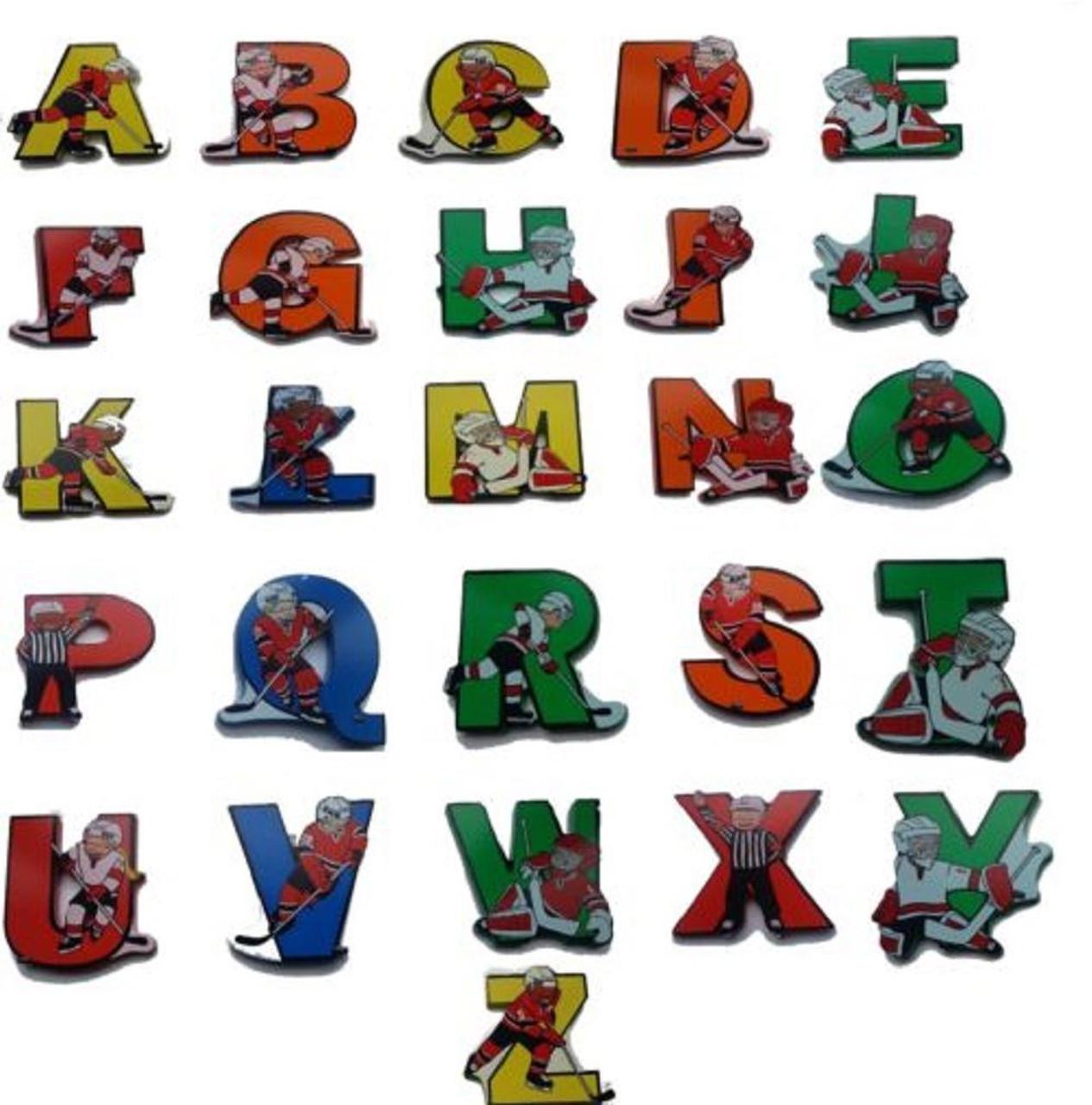 Vinsani Wooden Hockey Upper Case Alphabet Letters Personalised Bedroom Wall Door Name Vinsani Ltd