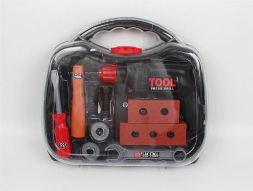 Vinsani 11 Piece Childrens Kids DIY Portable Tool Set Carry Case Play Set Toy