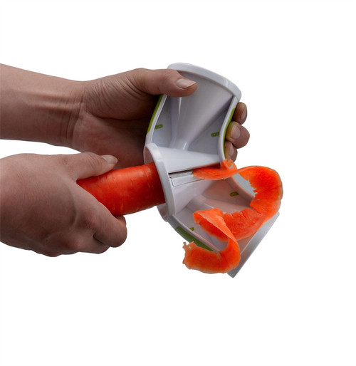 Vinsani 3 In 1 Blade Red /& White Vegetable Fruit Spiral Slicer