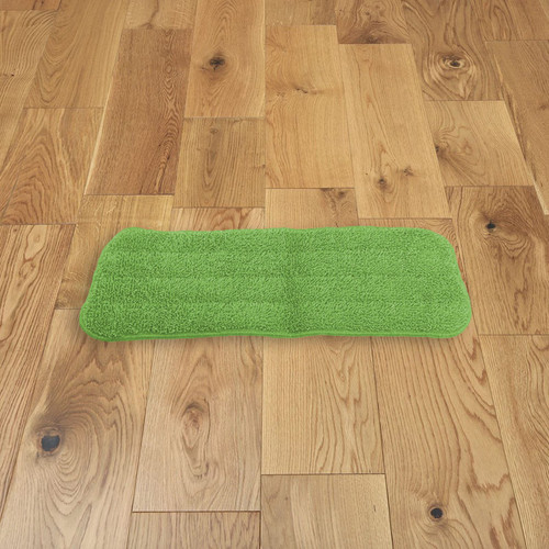 Vinsani Green Microfibre Mop Refills Pad - Head Replacement for Wet/Dry Pad Cleaning Washable Spray Mop Head