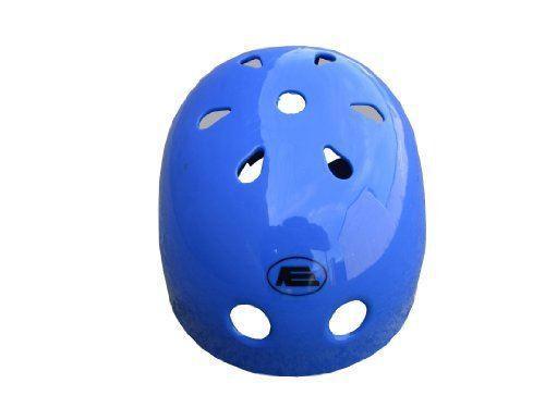 Vinsani Blue Little Helmet Bicycle Cycle Bomber BMX Skateboard Scooter Helmet Small (50 -54 cm)