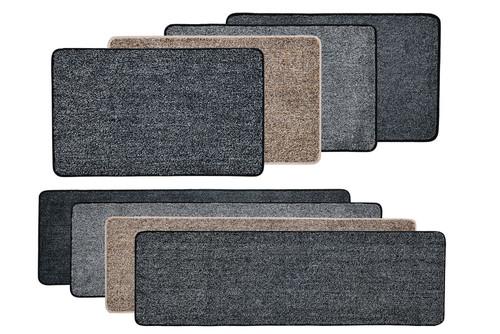 Vinsani Magic Clean Step Mat Non-Slip Backing Machine Washable Doormat Carpet Runner Rug Liner