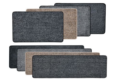 Vinsani Magic Clean Step Mat Non-Slip Backing Machine Washable Doormat Carpet Runner Rug Liner
