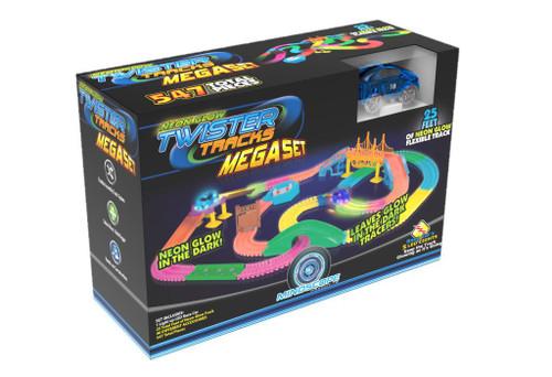Mindscope Twister Tracks Mega Set Neon Glow Neon Tracks Flexible Assembly