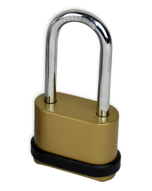 Vinsani 4 Digit Long Shackle Combination Padlock Security Home Shed Gate Garage