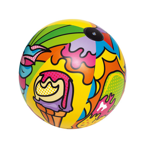 """Bestway Inflatable Beach Ball with Pop Art Design Summer Holiday Swimming Pool Party 36"""" (91cm)"""